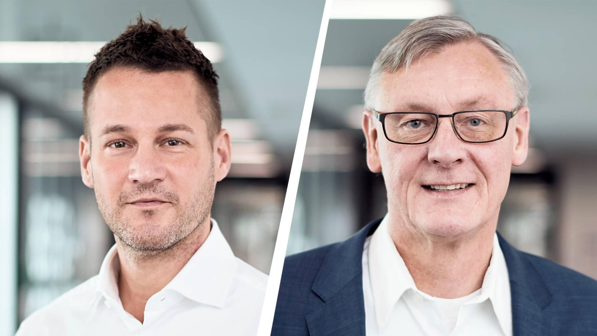 Dr. Andreas Gorbach és Prof. Dr. Christian Mohrdieck